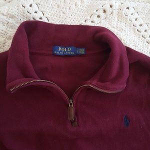 {POLO Ralph Lauren} 1/4 zip pullover sweater